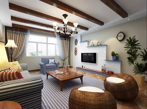 电视背景墙装修别再用大理石,这样设计实用100倍,再买房也这样装!