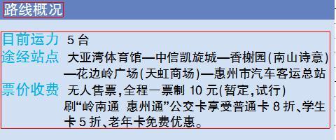 """""""惠大公交快线..."""