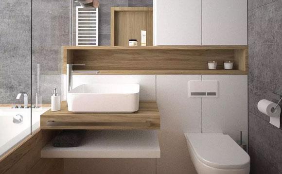 小面积卫生间怎样装修?卫生间装修这样做,干净清爽很漂亮!