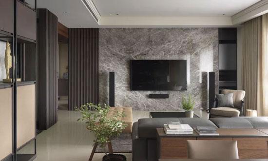 仿石材电视墙装饰优缺点