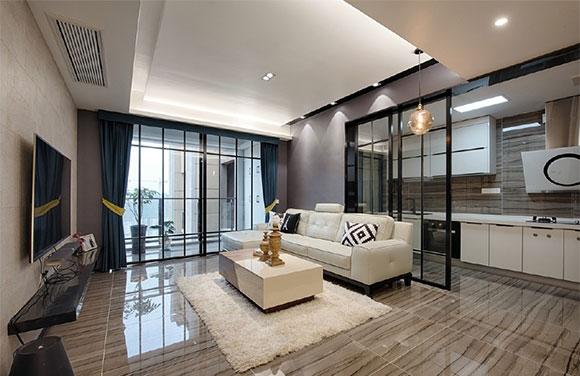 120�O现代风格三房装修,设计感超强,卧室装修温馨而舒适!