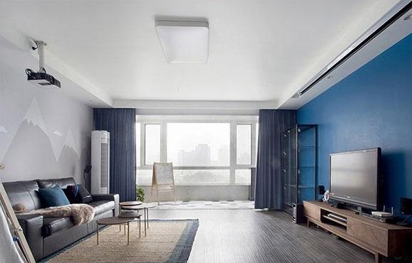 有个性的混搭风格装修,头次见阳台装射灯,背景墙设计真漂亮!