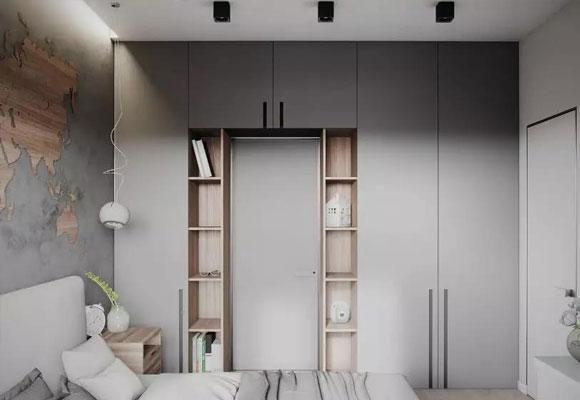 特别漂亮的衣柜装修,设计简洁大方很实用,你家卧室要不要试试?