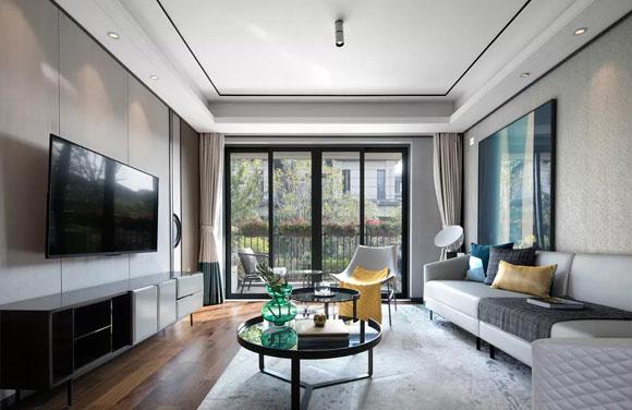 新中式风格装修格调高雅,简洁大方很耐看,集成板装饰效果真不错!