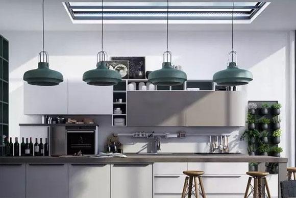 高级灰厨房装修