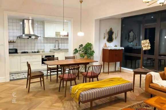 厨房餐厅一体,好看实用还省空间,这样装修厨房餐厅真聪明!