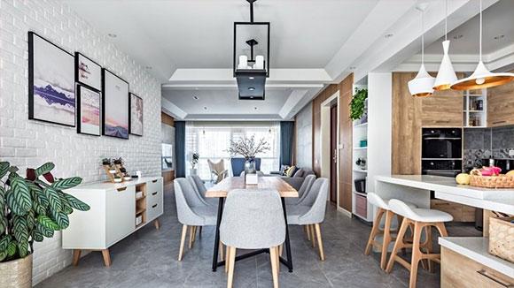 现代风格四居室装修