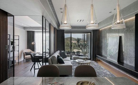 时尚又大气的现代风格装修,温馨舒适有质感,全屋装修真高级!
