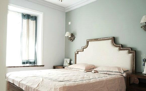 舒服的美式田园风格装修,全屋不吊顶用石膏线代替,效果很完美!