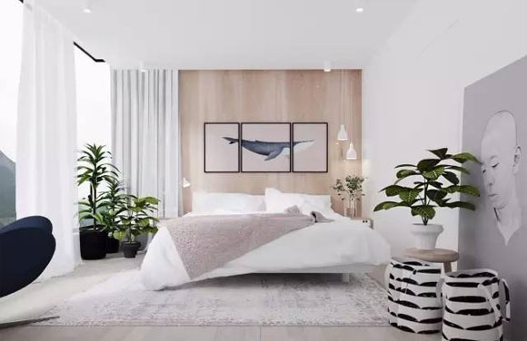 9套清淡素雅的卧室装修案例,简约不简单,每一套都爱不释手!