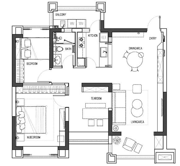 三房装修设计