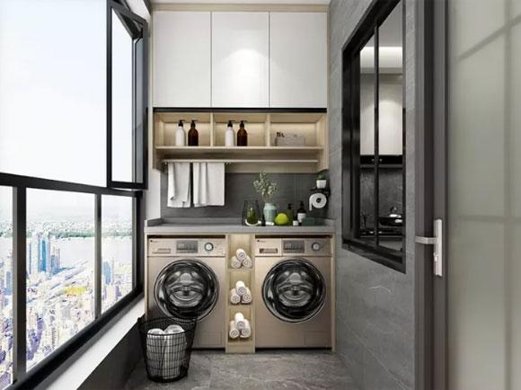 阳台储物柜造型设计
